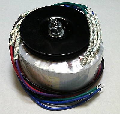 Diy Hifi Toroidal Power Transformer 400va 38v X2 76v Ct Pn As-4438