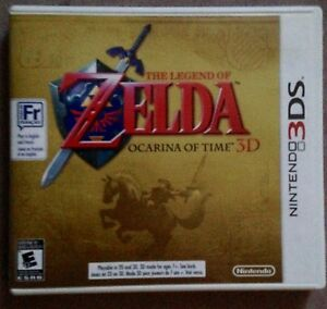 !!!NO GAME!!!CASE ONLY!!! Zelda Ocarina of Time 3DS