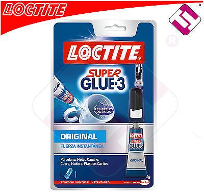 Glue Super Glue 3 Loctite 3g Original Glue All Universal Offer