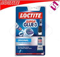 Colla Super Glue 3 Loctite 3 Grammi Originale Incolla Plastica Offerta -  - ebay.it
