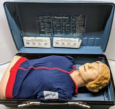 Laerdal Resusci Anne Medical Training Manikin W Case As-is Untested