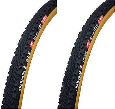 Challenge Chicane Pro Cyclocross Tubular 700 X 33  2 Tires