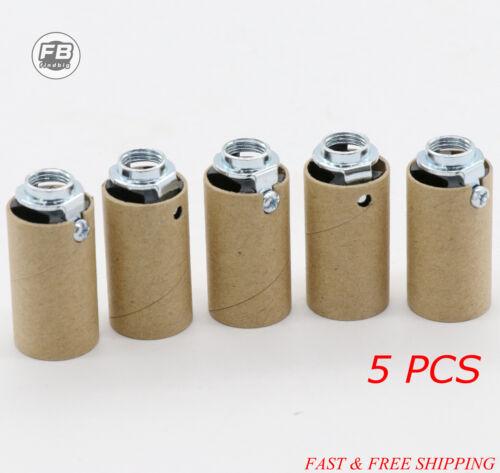 Bakelite CANDELABRA SOCKET HIGH HEAT Insulator Light Sockets Lamp Parts E12