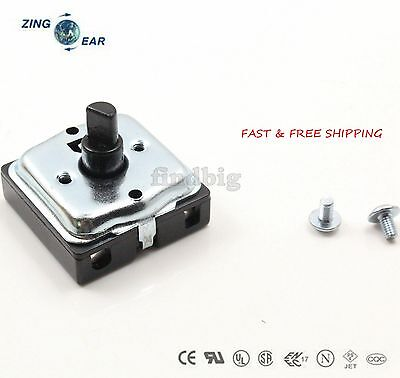 Turn Switch 3 Speed 4 Position Heater Blower Fan Oven Up To 13a 120250v