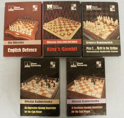 5 Chess Books for the Price of 3! N. Kalinichenko, I. Odessky, G. Bogdanovich