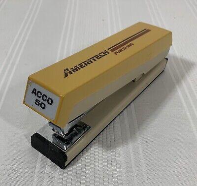 Acco Model 50 U.s.a. Vintage Stapler