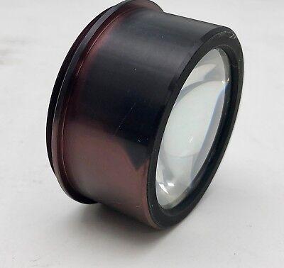 Genuine Nikon Diaphot Tmd Microscope Lamp Housing Collector Lens