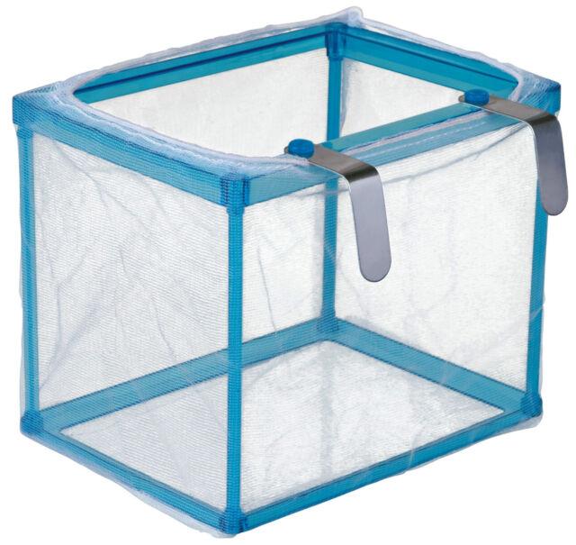 Aquarium Fine Net Breeding Trap for Molly Platy Guppy Fish Fry Safe Hatchery