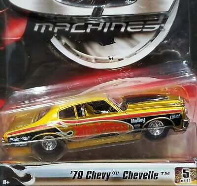 Hot Wheels 70 1970 Chevy Chevelle G Machines Street Legal Series 1 Chevrolet Car