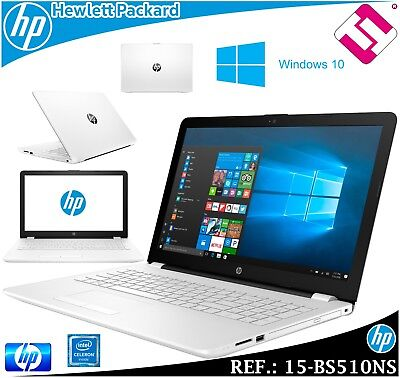 PORTATIL HP 15BS510NS N3060 1,6GHZ 15.6 8GB 1TB WIFI W10 TELETRABAJO POCAS...