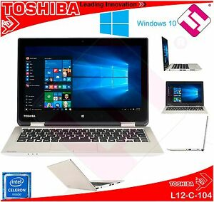 PORTATIL TOSHIBA L12-C-104 4GB DDR3 HDD 500GB W10 PRO ACADEMIC...