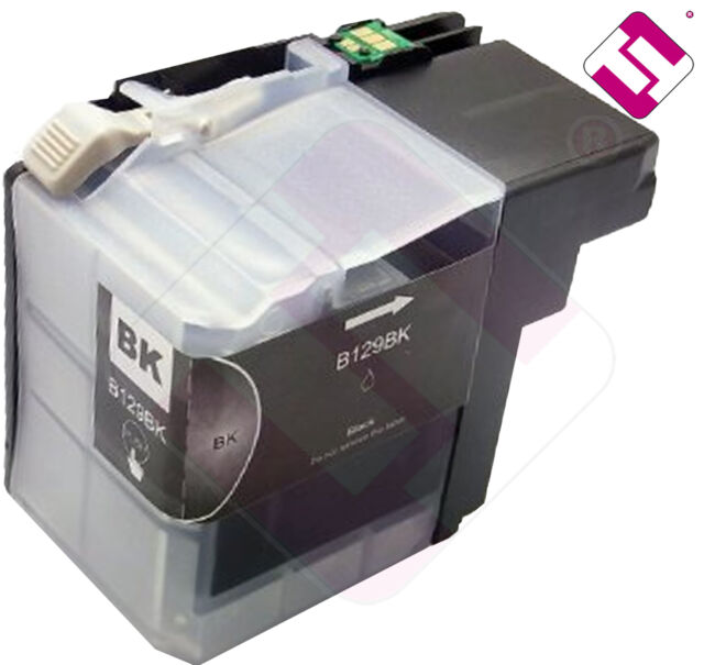 INK LC129BK BLACK COMPATIBLE PRINTER MFC J6920DW BROTHER CARTRIDGE BLACK NOEM