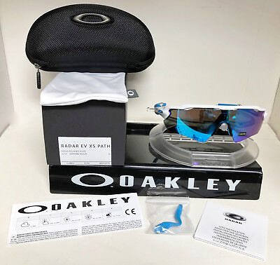 Oakley Radar Ev Xs Path Sunglasses Polished White   Saphire Iridium Oj9001 0131