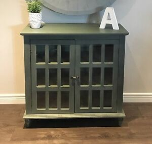 MOVING - Beautiful Accent Cabinet - Can Deliver