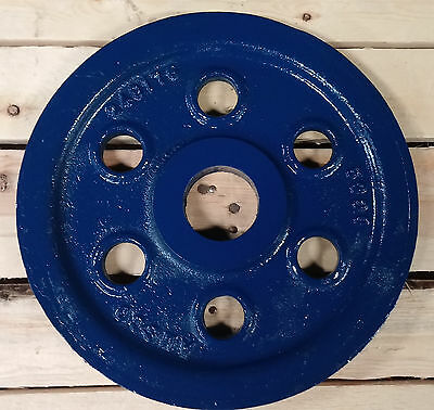 Wire Rope Sheave Pulley 34 Rope 11-78 Od 2-14 Id Plain Bore Cast Iron