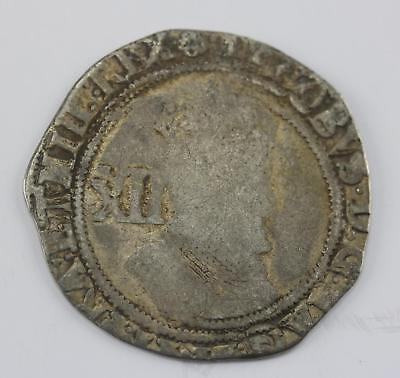 James I shilling second coinage rose mint mark 1605 1606