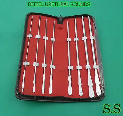 Dittel Urethral Sounds Obgyn Urology Surgical Medical