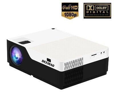New Arrival 1080P Full HD Home Theater Projector LED Bulb HDMI USB 1920*1080 ()