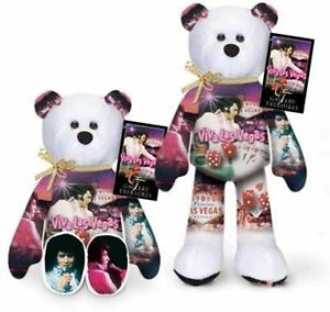 Elvis-Presley-Viva-Las-Vegas-Teddy-Bear-7th-Bear-issued-in-the-Series-of-28