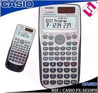 Calculadora Casio Super Fx Plus 3650pii Tecnica Cientifica Universidad Original - casio - ebay.es