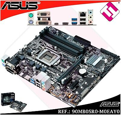 ASUS PRIME B250M-A Motherboard (Socket 1151/B250/DDR4/S-ATA 600/Micro ATX) - Black