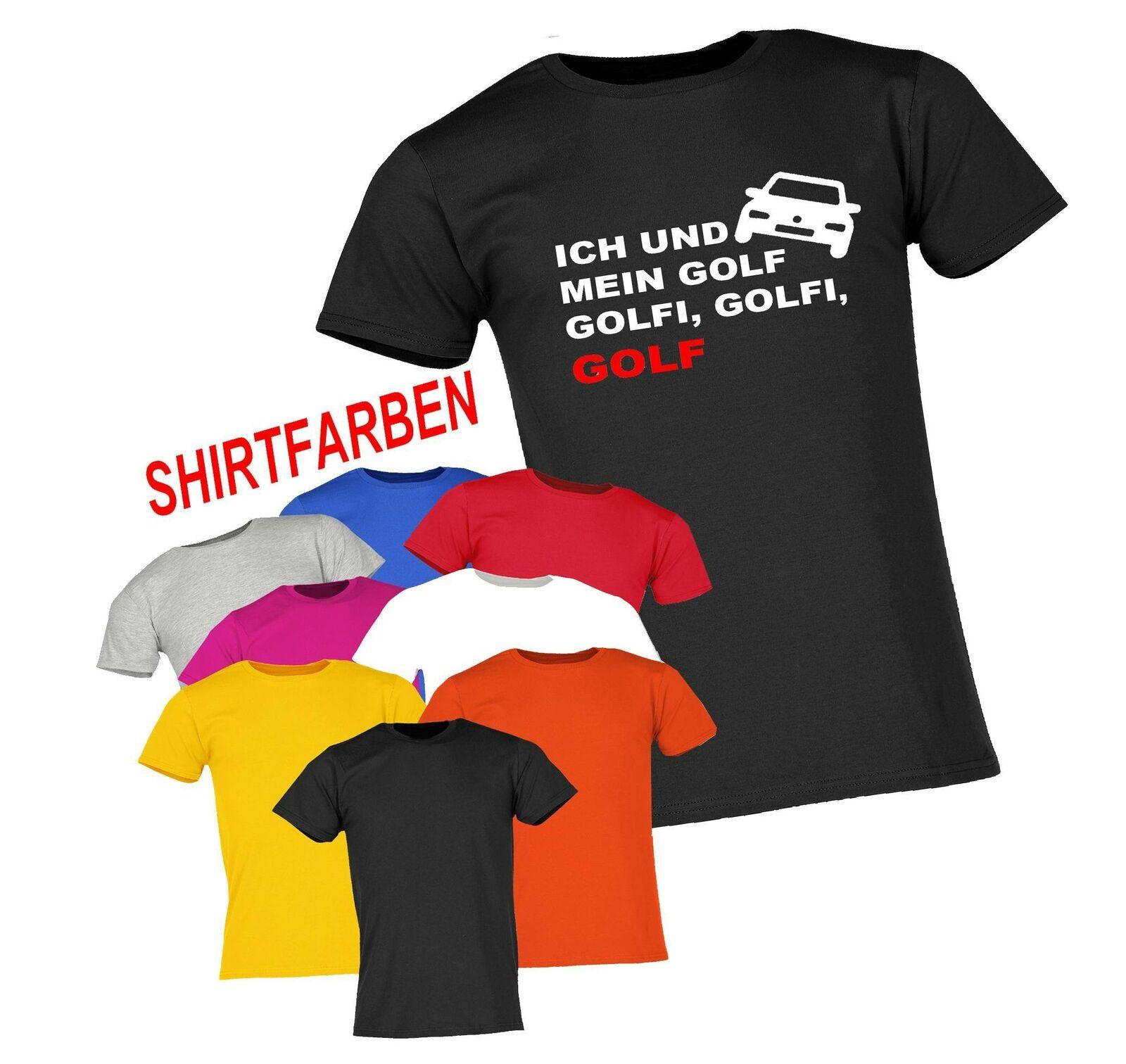 UNISEX T-SHIRT GOLF ICH UND MEIN GOLF GOLFI SPRÜCHESHIRT PARTYSHIRT S-5XL NEU