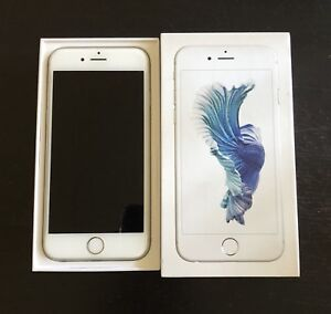 iPhone 6s 64g - White/Silver - Unlocked