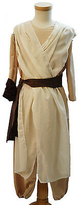 TV-Film-Larp-Comic Con-Cosplay-STAR REY CHILD'S COSTUME Fancy Dress All Ages