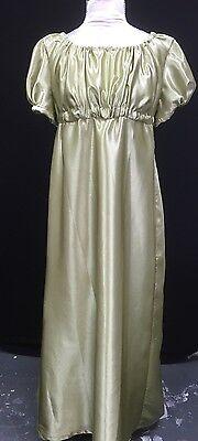 Regency Jane Austen Inspired Faux Satin Ball Gown. MAKE AN OFFER!