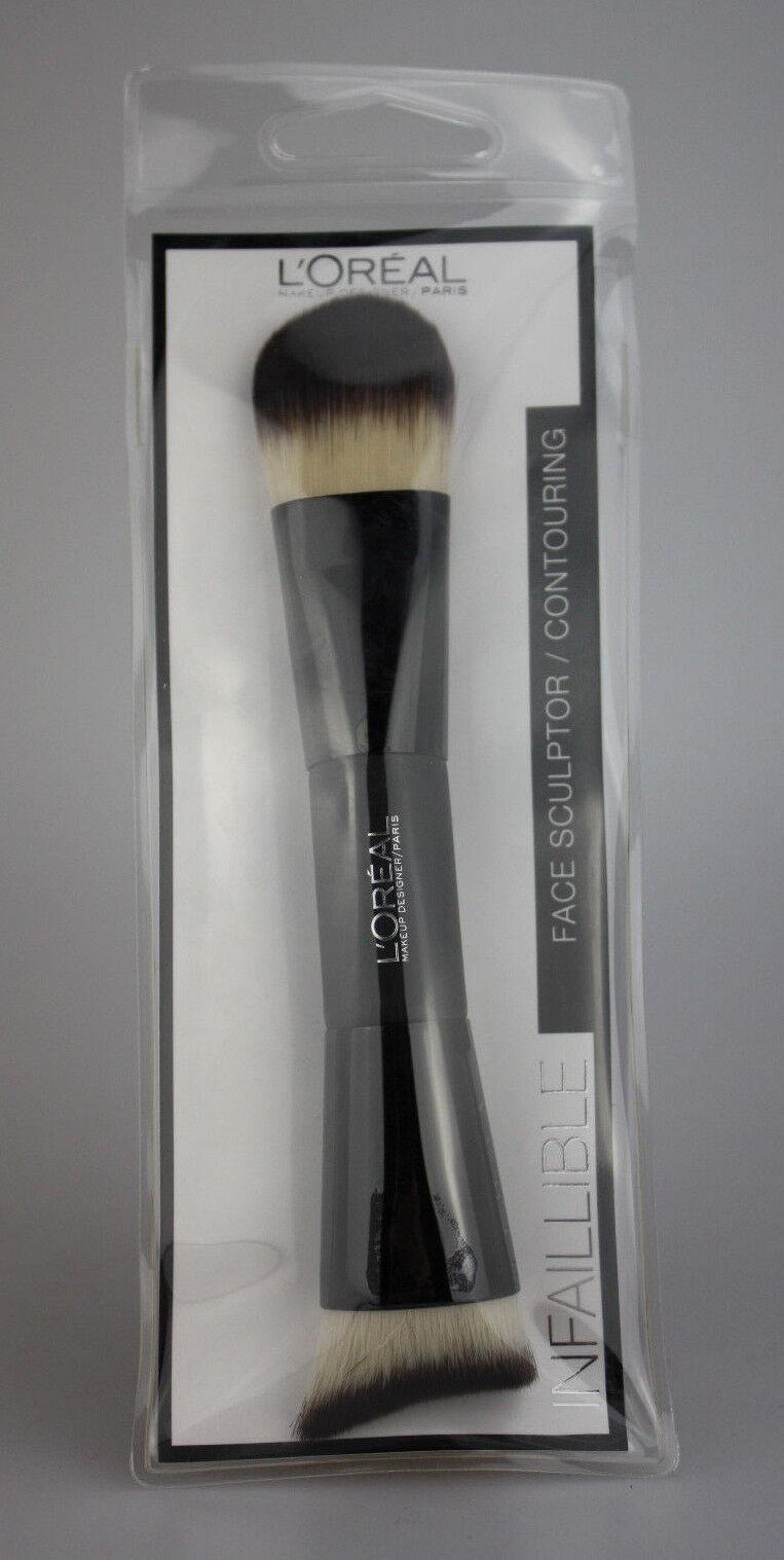Loreal Paris Make-UP Brush Dou Face Sculpting Brush 3 Stück(1 Stück 4,97€)