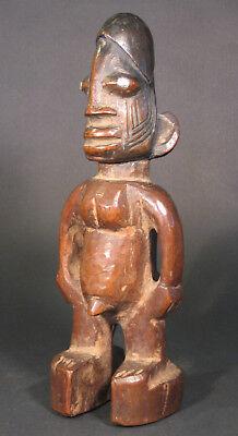 Yoruba Ibeji Male Figure Wood Statue African Tribal Art for sale  Boulder