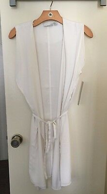 Nordstrom Rack 14Th   Union Long Wrap Vest Ivory Size S