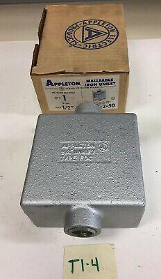 Fdc-2-50 Appleton Box 12new In Boxfast Shippingwarranty