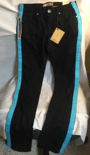 NWT HyBrid & Company Women's black Pants Size 5, with TEAL S