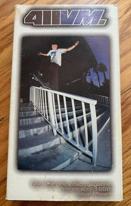 411 VM  Issue 15 vhs 1996 Skateboarding