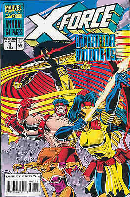 X-Force Annual # 3 (68 pages) (USA, 1994)