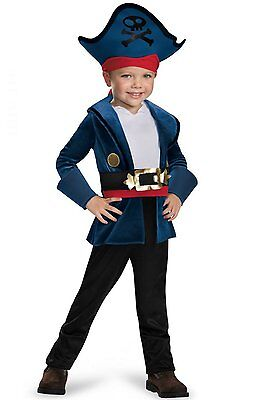 Captain Jake and the Neverland Pirates Classic Toddler Costume - Jake The Pirate Costume