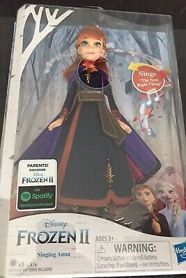 Disney Frozen 2 Singing Anna Fashion Doll with Music. New