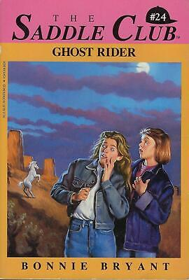 The Saddle Club #24 ~ GHOST RIDER - Spooky Halloween by Bonnie Bryant PB