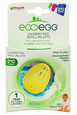 Ecoegg Nachfüll-Pellets, Fragrance Free, 210 Washes