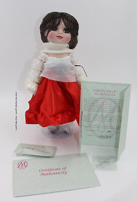 "Marie Osmond ""Adora Belle Gallito"" Dancing With The Stars Porcelain Doll w/COA"