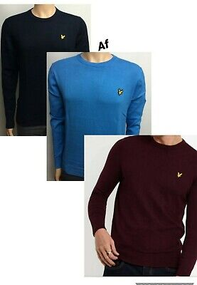 LYLE AND SCOTT LONG SLEEVE CREW NECK WINTER JUMPER (SWEATER) FOR MEN