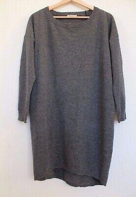 Acne Gray Wool Jumper Dress Size XS