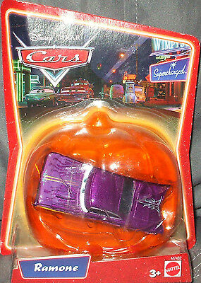 NEW Disney Pixar CARS Supercharged ~ HALLOWEEN PUMPKIN Domed (purple)  RAMONE](Cars Halloween Pumpkin)