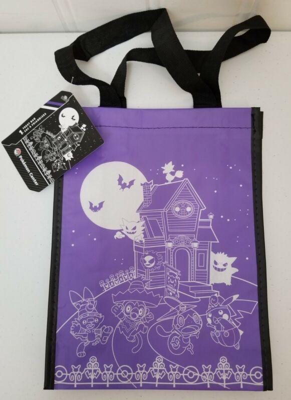 Pokemon Center Haunted Village Trick Or Treat Bag Halloween 2021 Reusable Bag