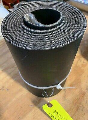 We Pack It Conveyor Belt Black Rubber 75023305 New
