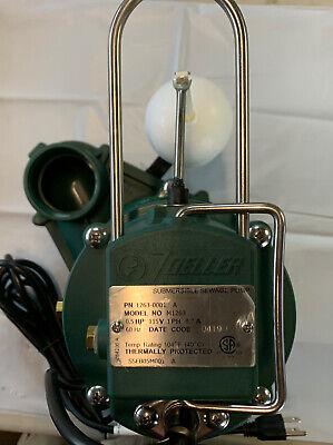 Zoeller 12 Hp Submersible Cast Iron Sewage Pump Green
