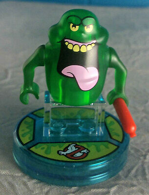 LEGO Dimensions SLIMER (Ghostbusters) Mini Figure With Base~71241