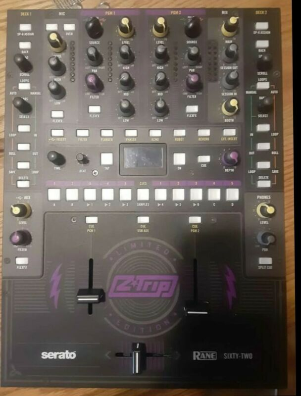Rane Sixty-Two DJ Mixer Z Trip Edition Excellent Condition