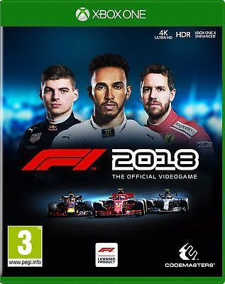F1 2018 Standard Edition (Xbox One) New & Sealed UK PAL